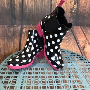 Kate Spade Trudy Polka Dot Rain Boots
